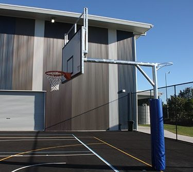 Reversible Basketball & Netball Tower