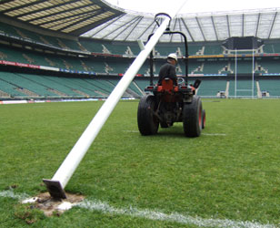 rugby hinge tractor
