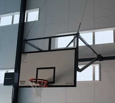 Indoor basketball systems grand slam sports equipment Indoor basketball court ceiling height