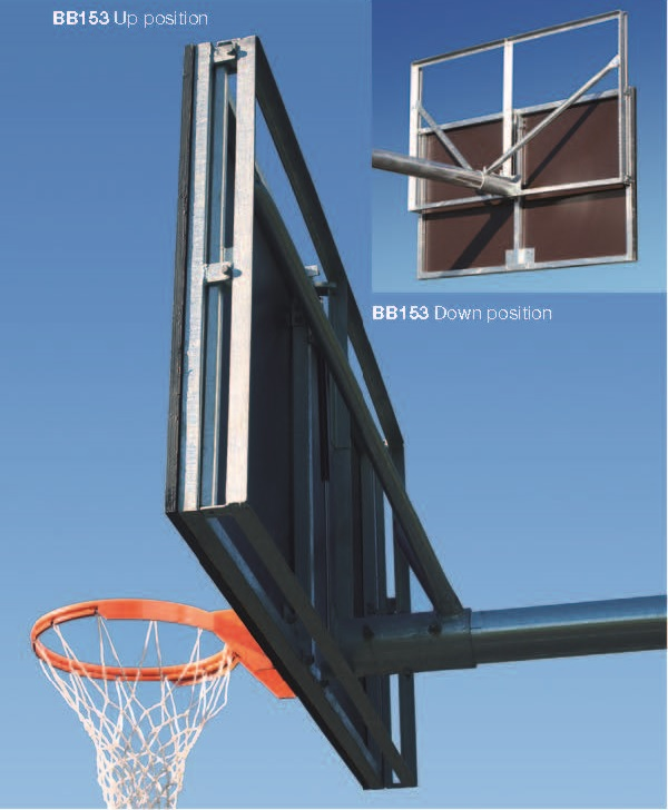 Height Adjustable Basketball Backboard Frame - Grand Slam Sports ...