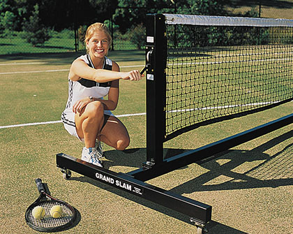 Tnpmob Grand Slam Mobile Tennis System Includes Net