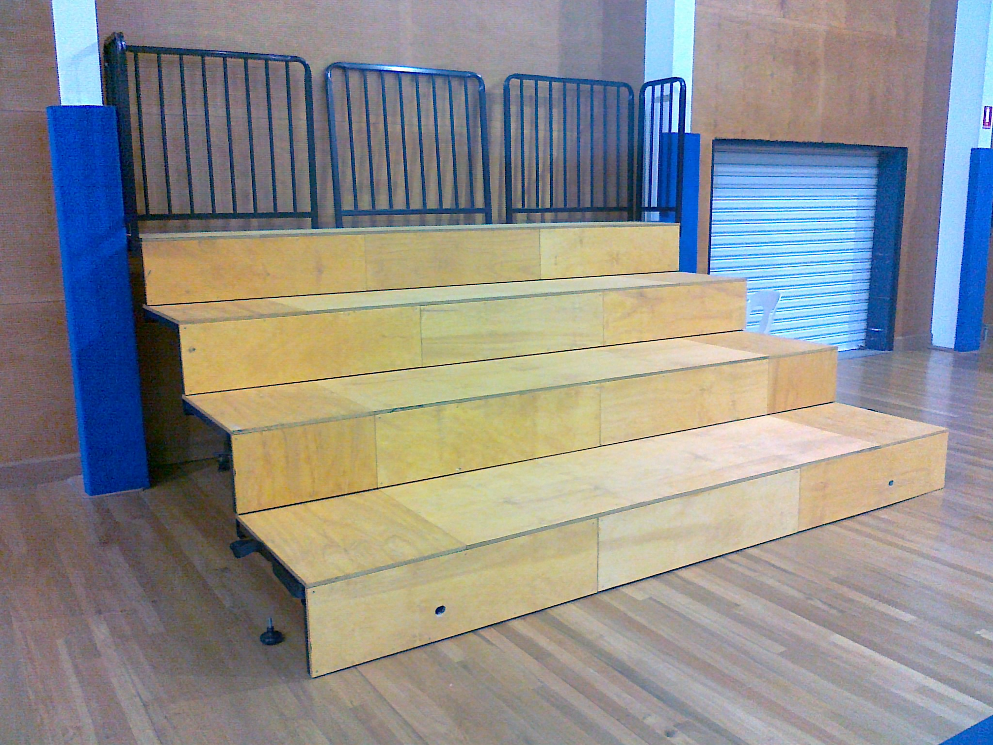 Retractable Bleacher Seating Grand Slam Sports Equipment