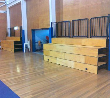 Retractable Seating 2