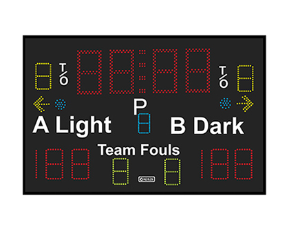 Electronic Scoreboards & Shot Clocks