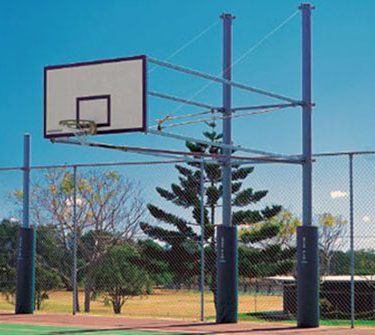 Outdoor Basketball Systems & Towers