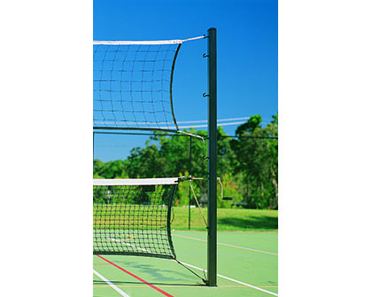 VBP106 - Combination Volleyball / Tennis Post System 75mm Square - Grand Slam Sports Equipment