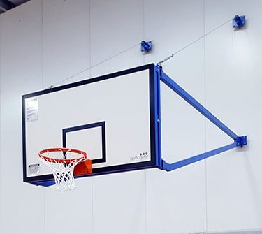 Wall Mounted Basketball Systems