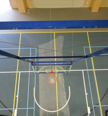 Ceiling Mounted Basketball Systems